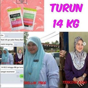 testimoni fleecy bangle tea