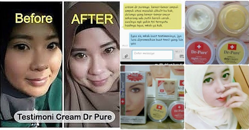 testimoni cream dr pure