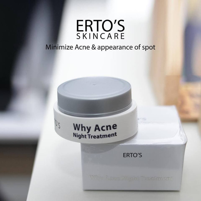 Erto's why acne night treatment