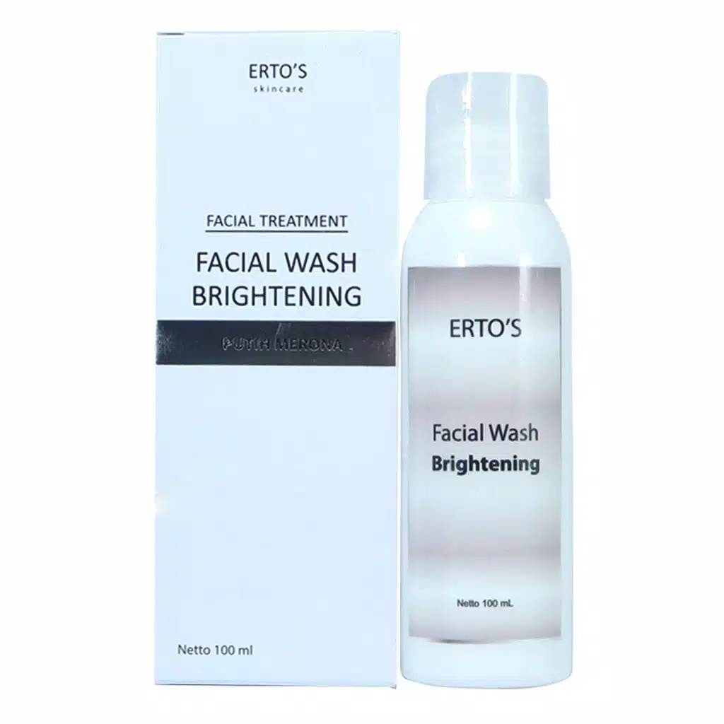 ertos facial wash
